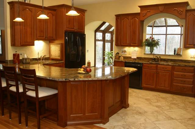 Granite building contractors your new kitchen starts here for Different kitchen design ideas