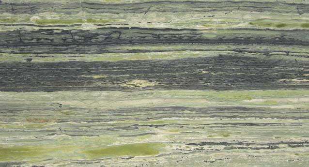 Exotic Green Marble : Bamboo amazonia green granite slab