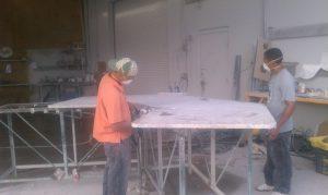 Cutting Profiles on Granite