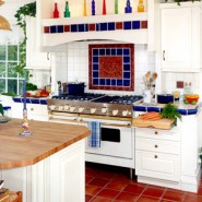 A Bright White Kitchen