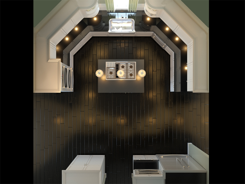 A More Social Kitchen (U-Shaped Kitchen with Island ...