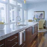 Marbled Granite Countertop